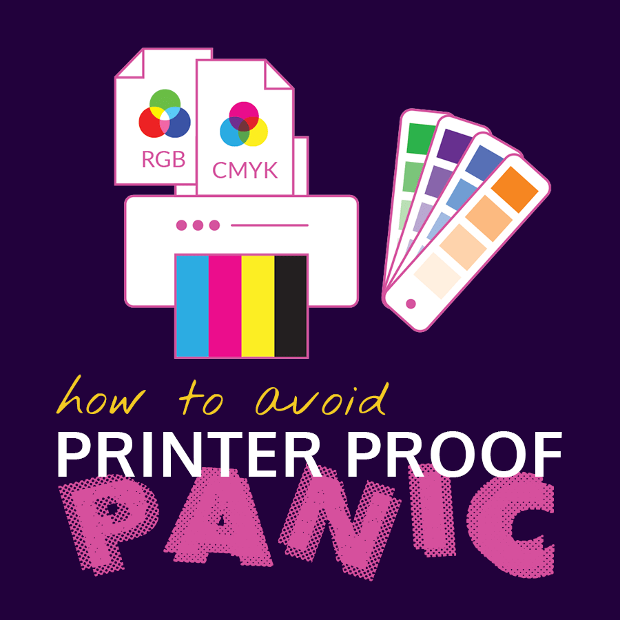 How to Avoid Printer Proof Panic